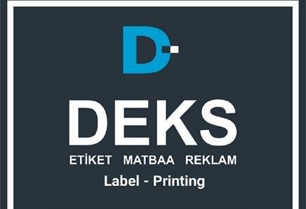 Deks Etiket Matbaa Reklam  Ambalaj