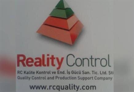 Reality Control Kalite Kontrol ve Endüstriyel İş Gücü San. Tic. Ltd.  Şti.