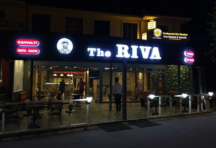 THE RIVA CAFE