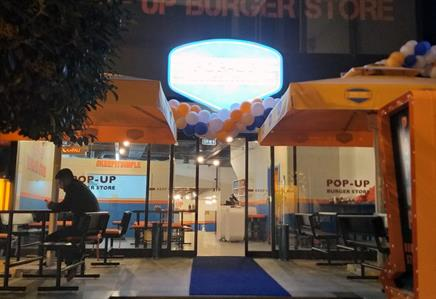 Pop-up Burger Store