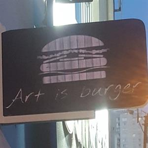 Art is Burger Steak
